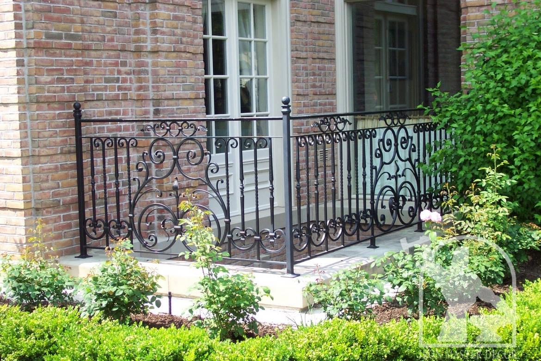 Exterior: Wrought Iron Exterior Railings Photo Gallery