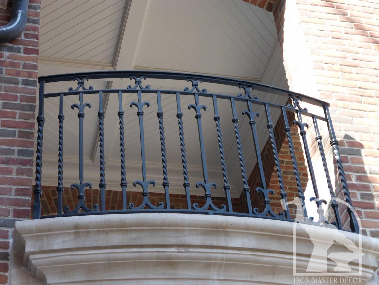 Wrought Iron Exterior Railings Photo Gallery   Iron Master