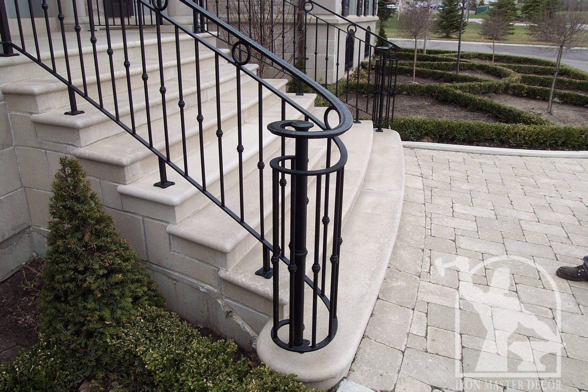 Wrought Iron Handrails Exterior. Wrought Iron Exterior