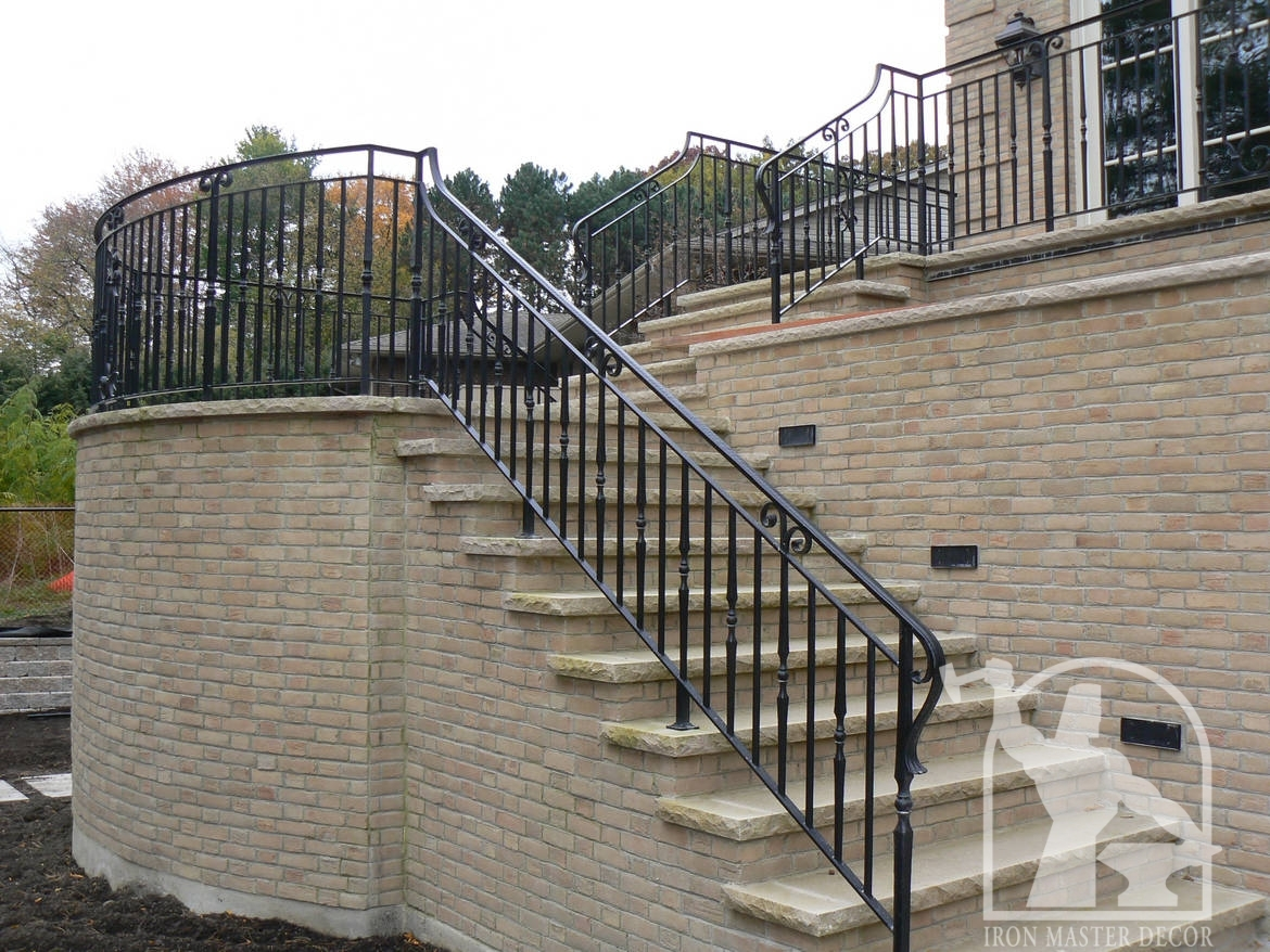 Wrought Iron Exterior Railings Photo Gallery | Iron Master