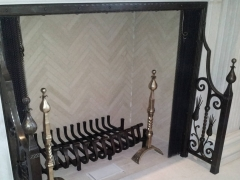 forged-bronze-wrought-iron-andirons-fireplace-2