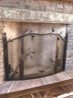 wrought-iron-fireplace