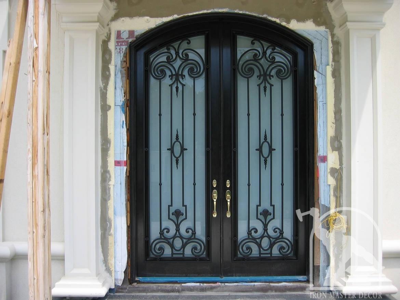 878 #4B6A80 Interior Railings Exterior Railings Front Doors Fences Gates  picture/photo Rod Iron Front Doors 43091170