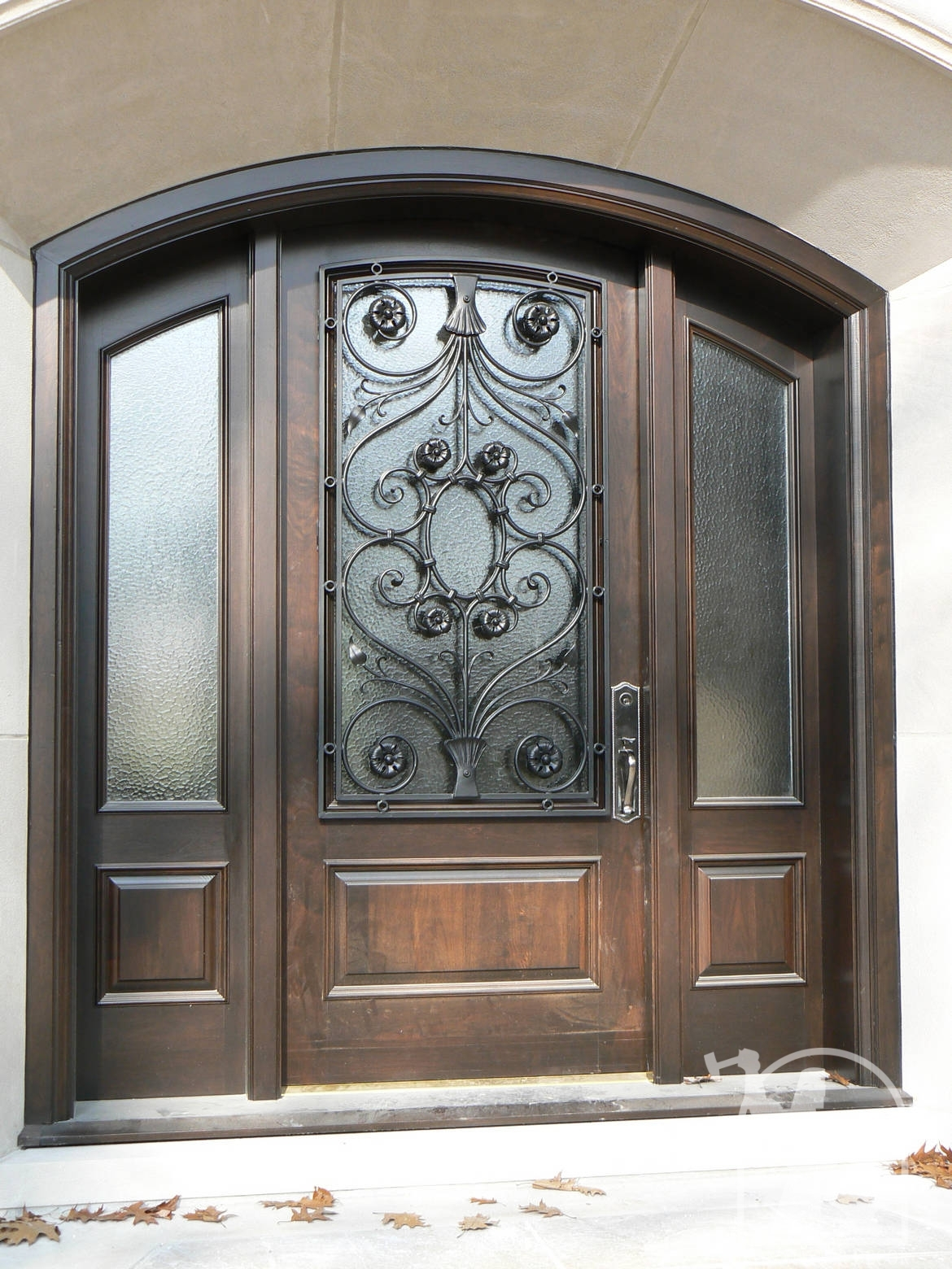 ODL decorative glass inserts for exterior entry doors