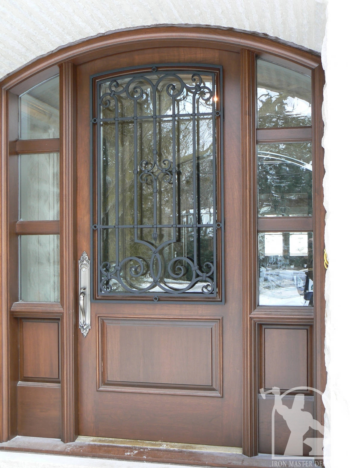 Wrought Iron Front Door Photo Gallery Iron Master