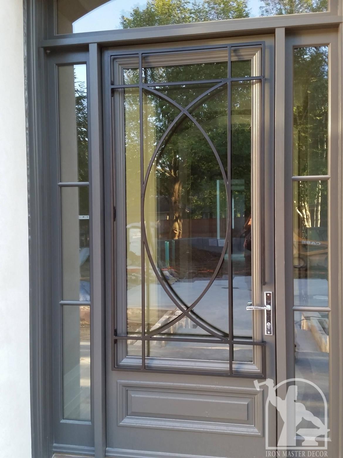 1560 #7B6C50 Interior Railings Exterior Railings Front Doors Fences Gates  picture/photo Rod Iron Front Doors 43091170
