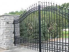 wrought-iron-driveway-gate-32