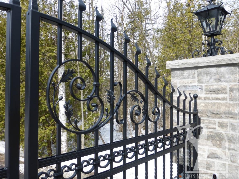 Wrought Iron Gate Iron Master Caledon Toronto Aurora