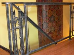 wrought-iron-interior-railing-glass-8