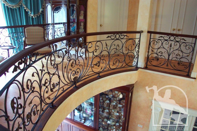 wrought iron interior railings photo gallery