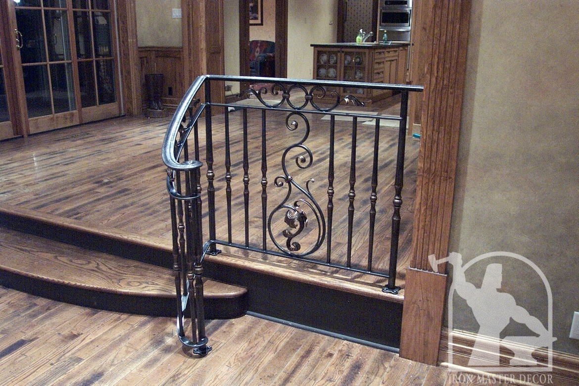 interior brass project rail railings view ad kaufman