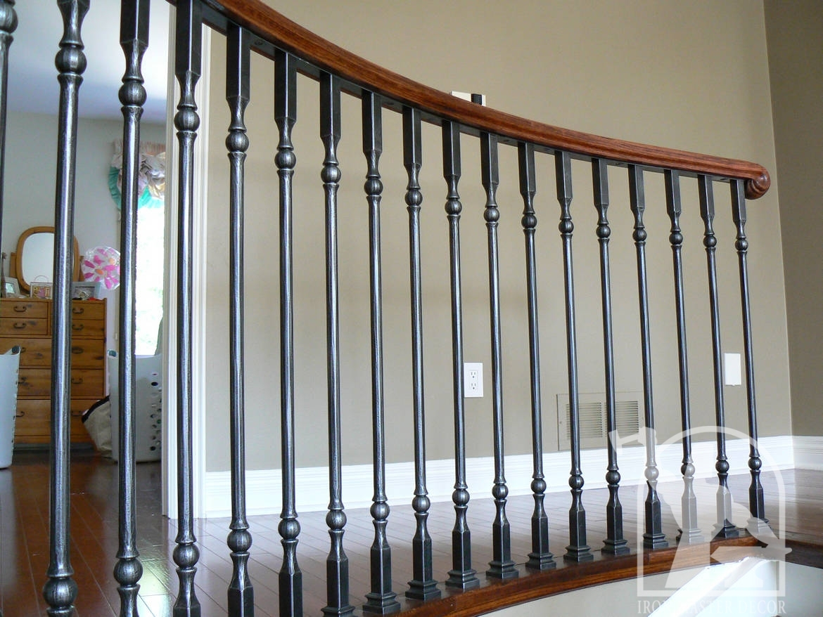 Iron railing for Interior iron railing designs