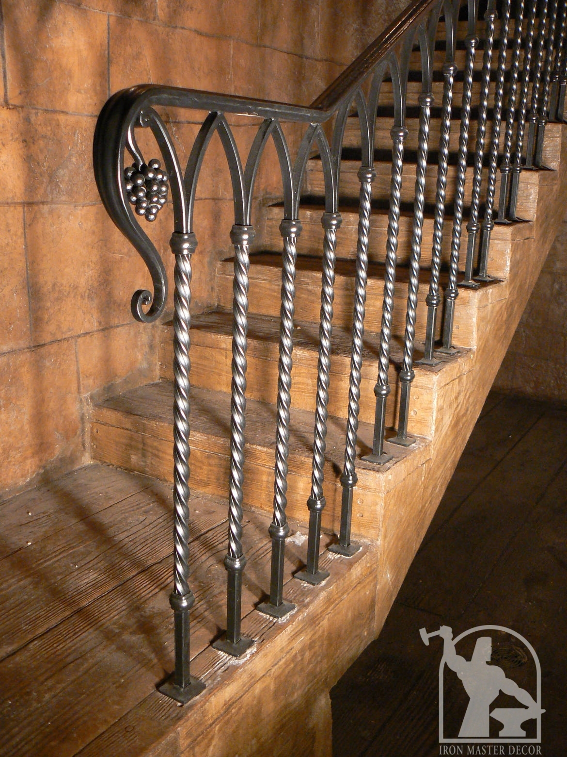 Custom Interior Railings Iron Master Toronto Modern And