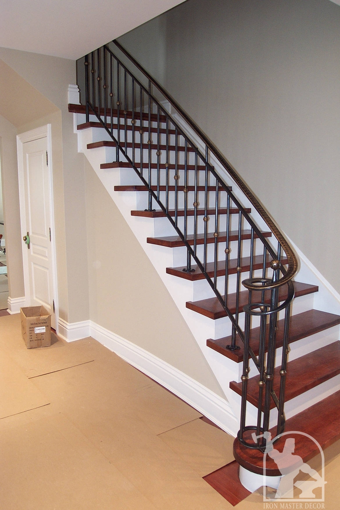 Wrought Iron Interior Railings Photo Gallery Iron Master