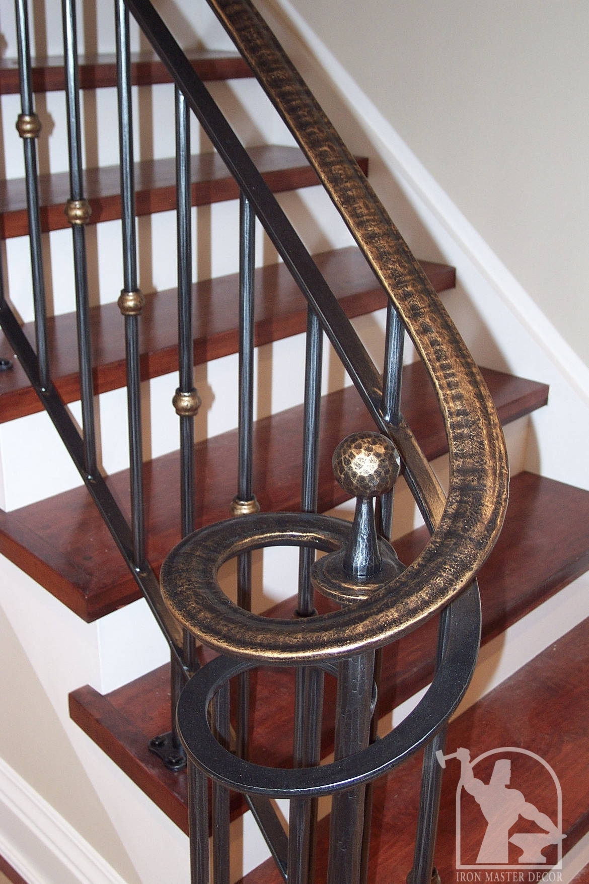 wrought iron interior railings photo gallery