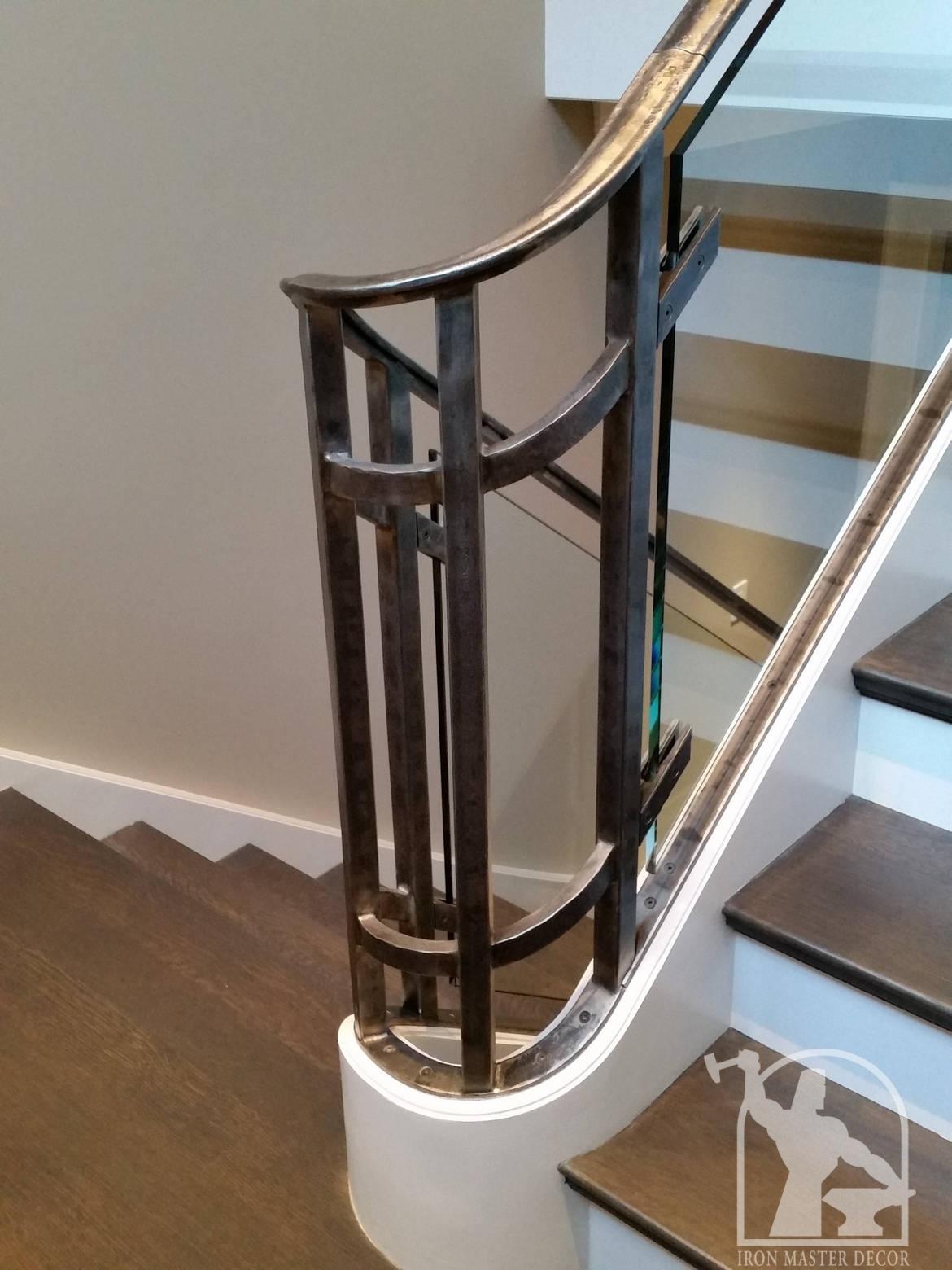 Custom Interior Railings, Iron Master, Toronto, modern and ...