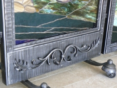 wrought-iron-stain-glass-frames-movable-2