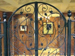 wrought-iron-winecellar-door